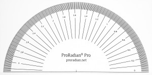 ProRadian® Pro, accurate to 0.01 radians